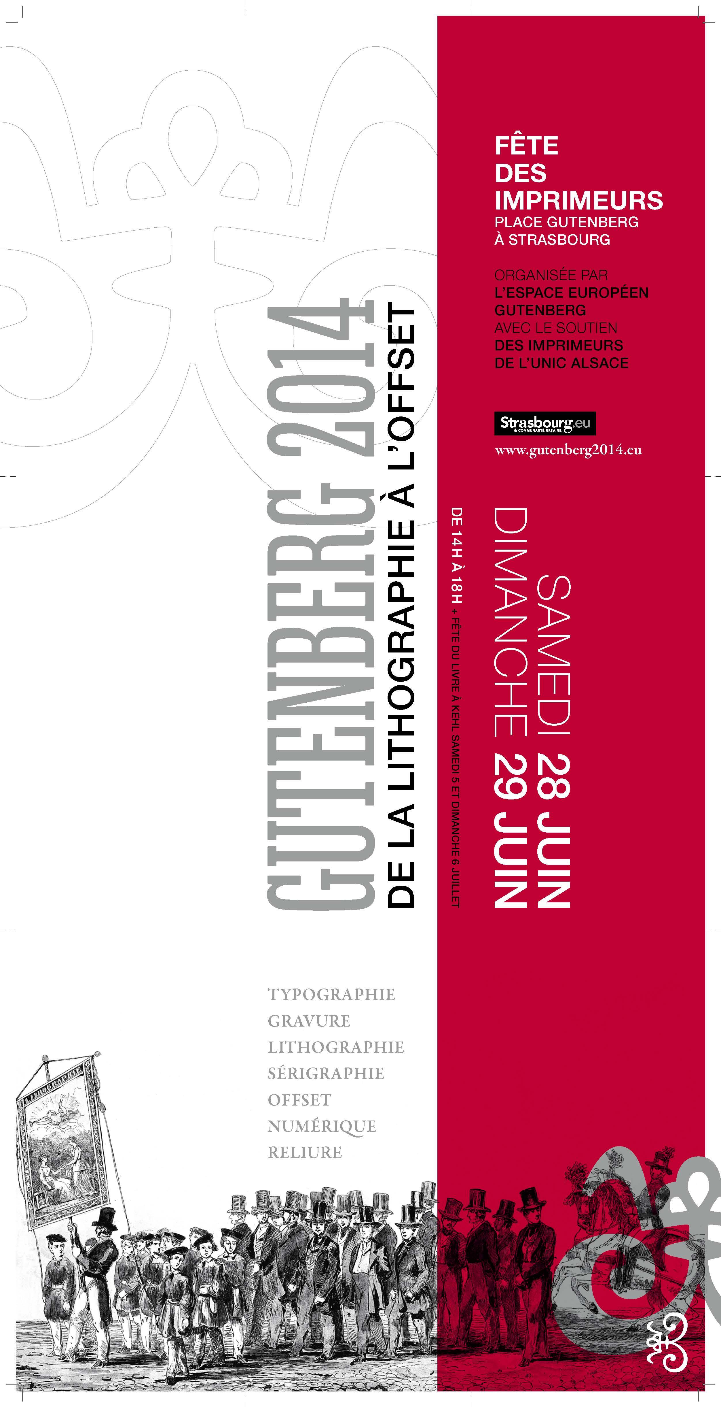 La Fête des Imprimeurs – Gutenberg 2014