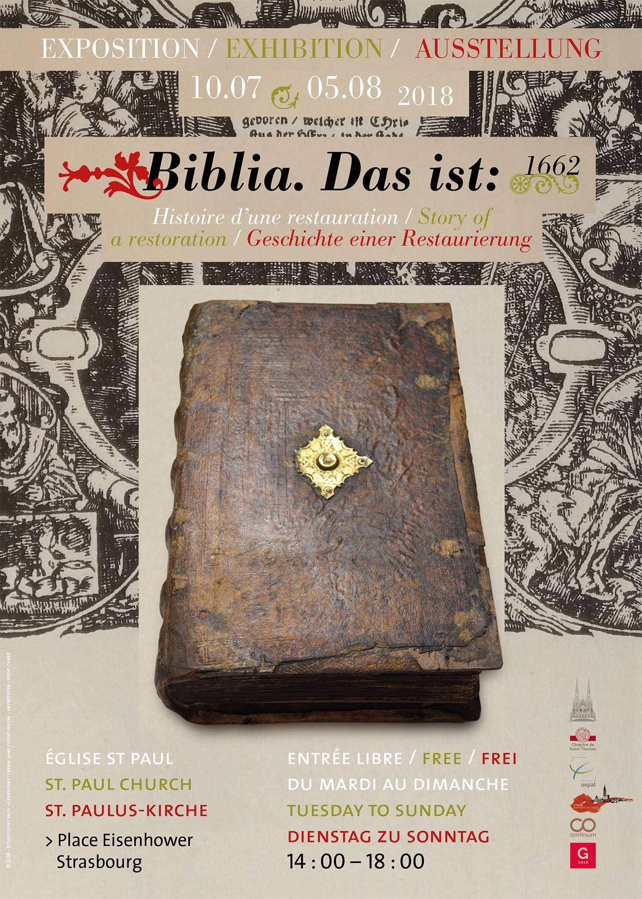 Biblia, Das ist: Histoire d'une restauration